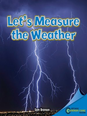 cover image of Let's Measure the Weather